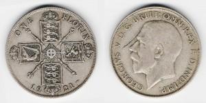 1 флорин 1921 года