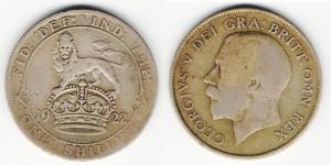 1 шиллинг 1922 года