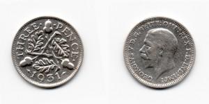 3 пенса 1931 года