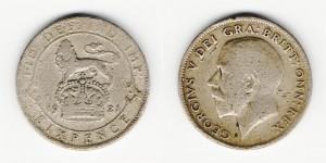 6 пенсов 1921 года