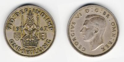 1 shilling 1947
