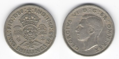 2 шиллинга 1948 года