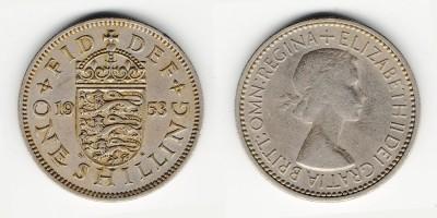 1 shilling 1953