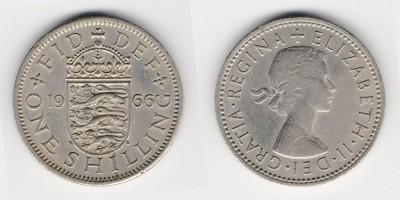 1 shilling 1966