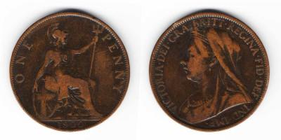 1 penny 1900