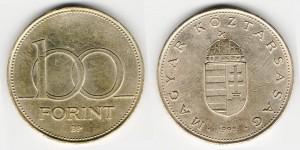 100 форинтов 1995 года