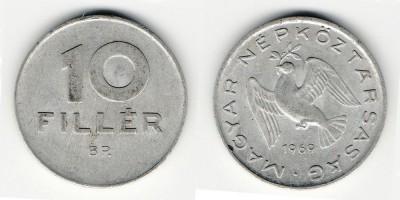 10 filler 1969