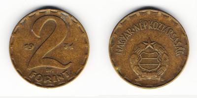 2 forint 1971