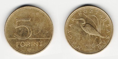 5 forints 1994