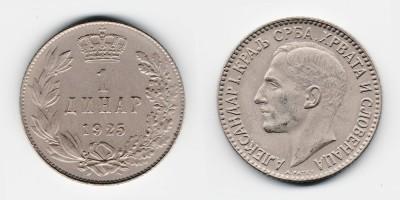 1 динар 1925 года