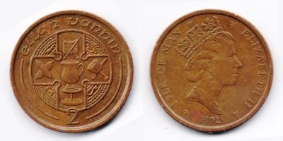 2 pence 1992
