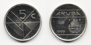 5 центов 1999 года