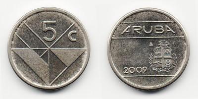 5 центов 2009 года