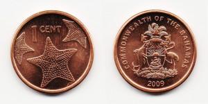 1 цент 2009 года