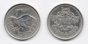 10 центов 2005 года