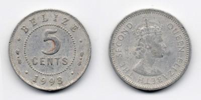 5 центов 1993 года