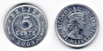 5 cents 2003