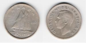 10 центов 1952 год