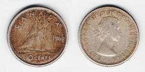 10 центов 1960 года