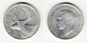 25 центов 1951 года