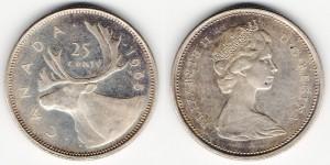 25 центов 1965 года