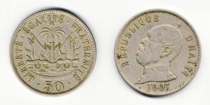50 сантимов 1907 года