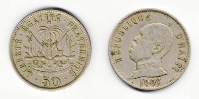 50 centimes 1907