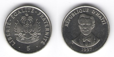 5 centimes 1997