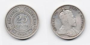 25 центов 1907 года