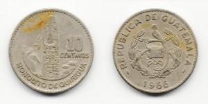 10 сентаво 1966 года