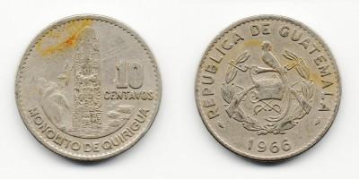 10 centavos 1966