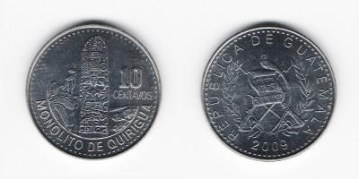 10 centavos 2009