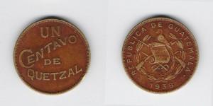 1 сентаво 1938 года
