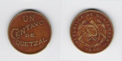 1 centavo  1938