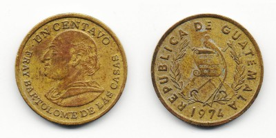 1 centavo  1974