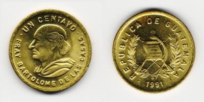 1 centavo 1991