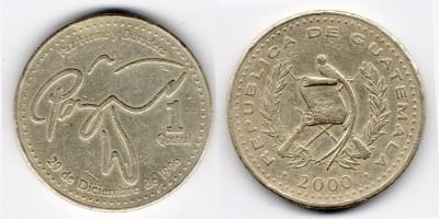 1 quetzal 2000