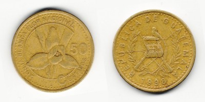 50 centavos 1998