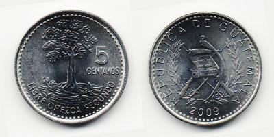 5 centavos 2009