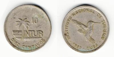 10 centavos 1989