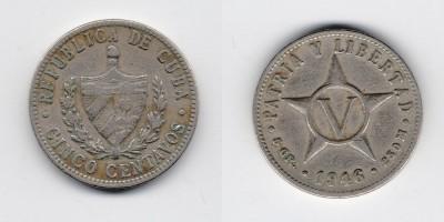 5 centavos 1946