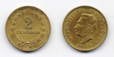 2 centavos 1974