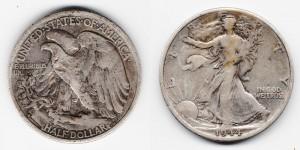 1/2 доллара 1944 года D