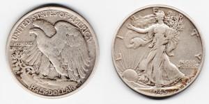 1/2 доллара 1945 года