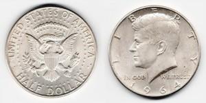 1/2 доллара 1964 года