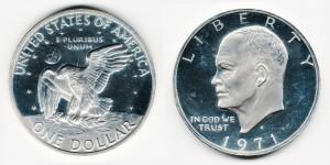 1 доллар 1971 года