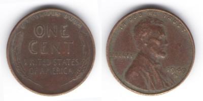 1 цент 1949 года S США