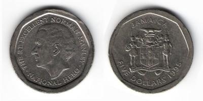 5 долларов 1995 года