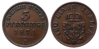 3pfennig 1871