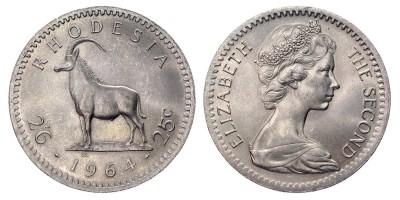 2½shillings 1964